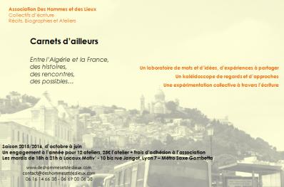 Atelier Algétie
